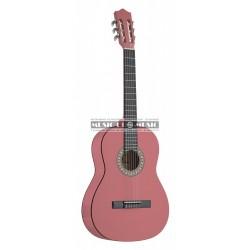 Stagg C505-PK - Guitare classique 1/4 Rose