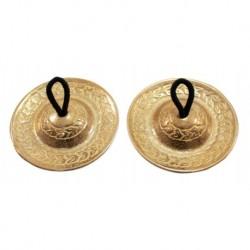 Agean Cymbals CRP2 - Crotales Sagat Turcs 58mm Bronze