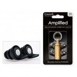 Crescendo PRO20 - Pro Amplified 20 - Filtres Auditifs - Protection SNR 17dB