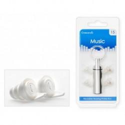 Crescendo MU15 - Music 15 - Filtres Auditifs - Protection SNR 16dB