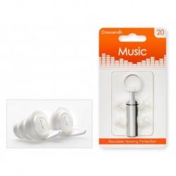 Crescendo MU20 - Music 20 - Filtres Auditifs - Protection SNR 19dB