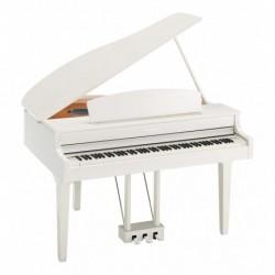 Yamaha CLP-695GPWH - Piano numérique Clavinova 88 Touch Gh3Xgp Blanc Brillant