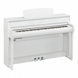 Yamaha CLP-675WH - Piano numérique Clavinova 88 Grandtouch Blanc Mat