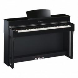 Yamaha CLP-635PE - Piano numérique Clavinova 88 Touches Gh3X Laque Noir