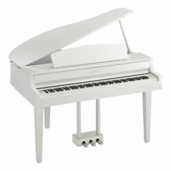 Yamaha CLP-665GPWH - Piano numérique Clavinova 88 Touch Gh3Xgp Laque Blanc