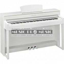 Yamaha CLP-535WH - Piano numérique blanc satiné avec meuble