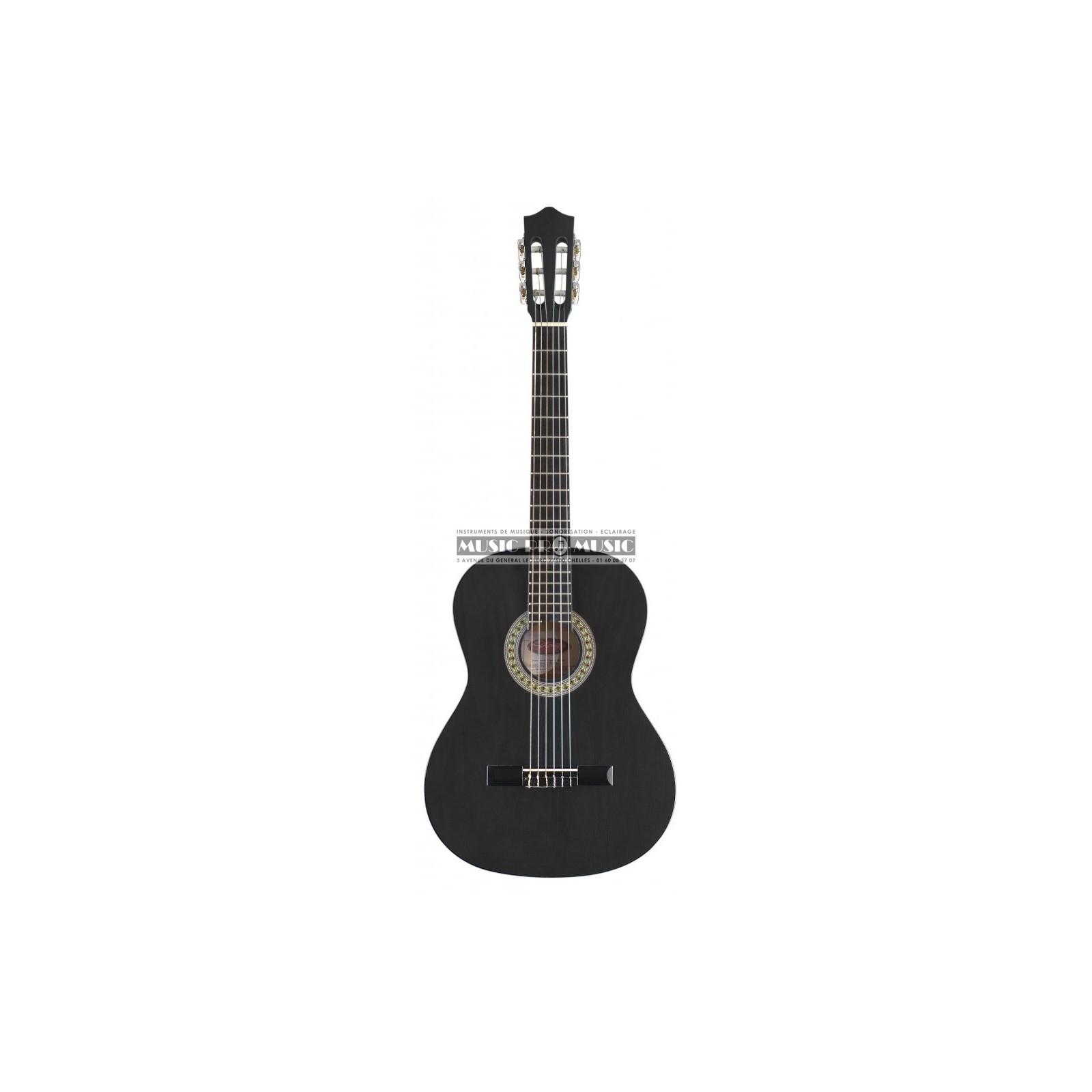 stagg c530 bk guitare classique 3 4 noir. Black Bedroom Furniture Sets. Home Design Ideas