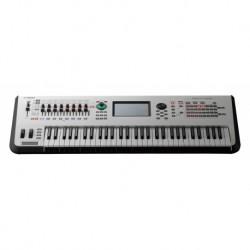 Yamaha MONTAGE6 WH - Synthétiseur Workstation haut de gamme 61 touches dynamiques Blanc