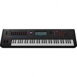 Yamaha MONTAGE6 - Synthétiseur Workstation haut de gamme 61 touches dynamiques Noir