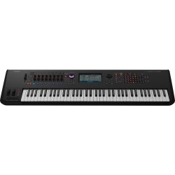 Yamaha MONTAGE7 - Synthétiseur Workstation haut de gamme 76 touches dynamiques Noir