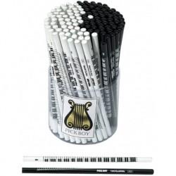 Pick Boy 976030WH - Crayon de papier piano blanc (vendu à l'unité)