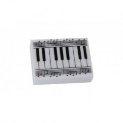 Gewa 976049 - Gomme Rectangulaire motif clavier