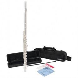 Flûte traversière tête droite d'étude + housse (tarif/mois dégressif)