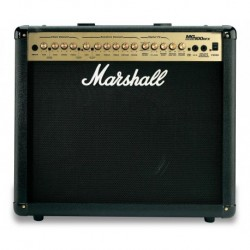 "Marshall MG100DFX - Ampli guitare 1x12"" 100w + câble d'alimentation + footswitch"