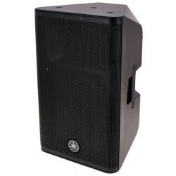 """Yamaha DXR12 - Enceinte amplifiée 12"""" 1100w 132dB SPL max + câble alimentation + housse acoustique (tarif 48h ou WE)"""