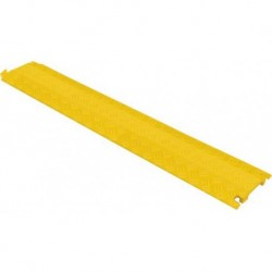 Passage de câble 1000x135x35mm plastique jaune charge max. 100 kg sur 20cm² 1 canal 38x13mm (tarif 48h ou WE)