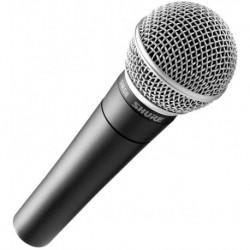 Shure SM58 - Micro chant dynamique cardioide + pochette (tarif 48h ou WE)