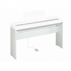 Yamaha L-125WH - Stand bois blanc pour piano numérique type P125WH