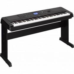 Yamaha DGX660B - Clavier arrangeur noir avec 88 notes toucher lourd