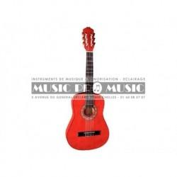 Miguel Almeria PS500043 - Guitare classique 3/4 rouge