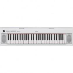 Yamaha NP-12WH - Piano numérique portable blanc à 61 touches dynamiques