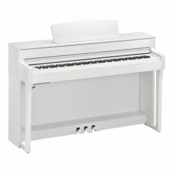 Yamaha CLP-645WH - Piano numérique blanc touches bois
