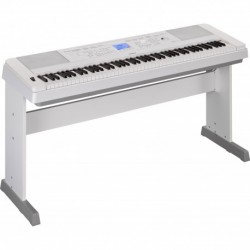 Yamaha DGX660WH - Clavier arrangeur blanc 88 notes toucher lourd