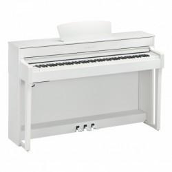 Yamaha CLP-635WH - Piano numérique blanc avec meuble