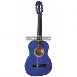 Miguel Almeria PS500045 - Guitare classique 3/4 bleu