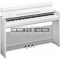 EXPOSITION - Yamaha YDP-S52WH - Piano numérique blanc satiné avec meuble