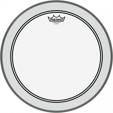 """Remo P3-1316-C2 - Peau Powerstroke 3 transparente de 16"""" pour grosse caisse"""