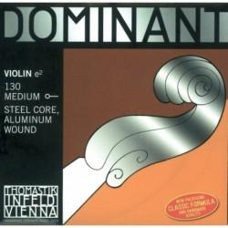 Thomastik 633610 - Corde pour violon 4/4 E Mi M130 Dominant
