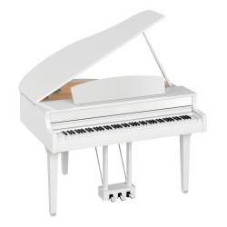Yamaha CLP-795GPWH - Piano numérique Premium meuble à queue blanc laqué