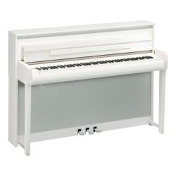 Yamaha CLP-785PWH - Piano numérique Premium meuble droit blanc laqué
