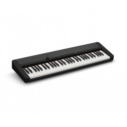 Casio CT-S1BK - Clavier 61 touches dynamiques noir avec sonorités de claviers vintages