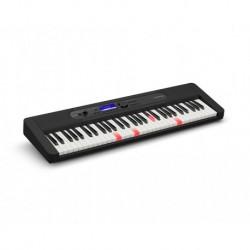 Casio LK-S450 - Clavier 61 touches dynamiques blanc avec sonorités de claviers vintages