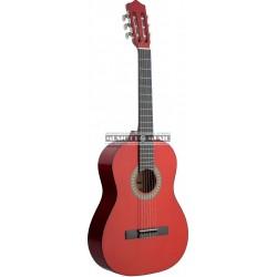 Stagg C542-TR - Guitare classique 4/4 Rouge