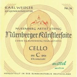 Nürnberger 639640 - Jeu de cordes Künstler violoncelle 4/4