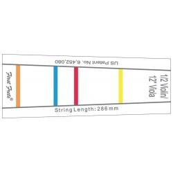 First Frets 414875 - Repère de frettes à coller sur Violon 1/2