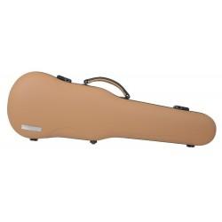 Gewa Made In Germany 303650 - Etui de forme violon Air Prestige cappucino/noir