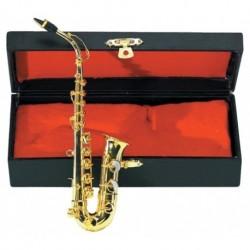 Gewa 980580 - Saxophone miniature laiton avec étui