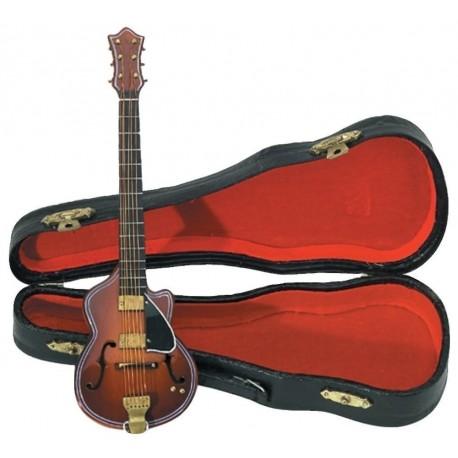 Gewa 980650 - Guitare miniature bois avec étui