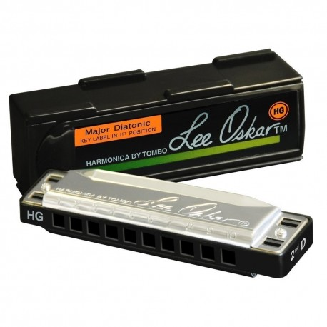 Lee Oskar 797013 - Harmonica Major Diatonique 10 trous 1910 Sol Majeur aigu