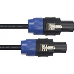Yellow Cable HP20SS - Cable Profile pour haut-parleur Speakon/Speakon 20m 2x1.5mm