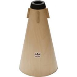 Denis Wick 5562 - Sourdine droite en bois pour Euphonium