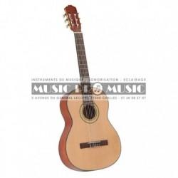 La Lyre C-966 - Guitare classique 4/4 épicéa massif
