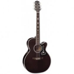 Takamine GN75CETBK - Guitare electro-acoustique table épicéa massif vernie noir brillant