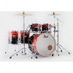 """Pearl Export Artisan EXA726XS/C784 - Batterie acoustique fusion 22"""" 6 fûts Limited Edition Spider Web (sans siège, ni cymbales)"""