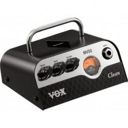 Vox MV50-CL - Tête à lampes serie MV 50W Nutube CLEAN