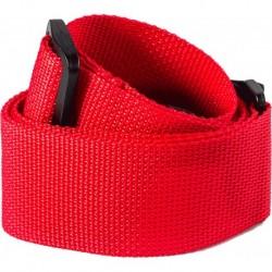 Dunlop D07-01RD - Courroie nylon rouge